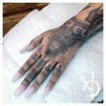 Delvius sacred geometry geometric tattoo style