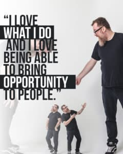 Tattoo Artist Martin Dare: I love what I do and I love being able to bring opportunity to people.