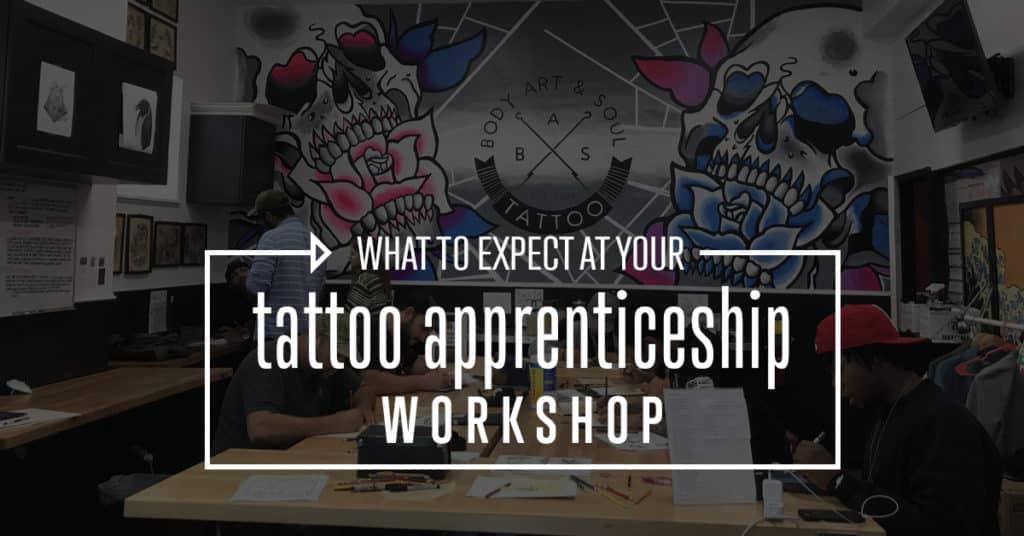 Qué esperar en tu taller de tatuajes