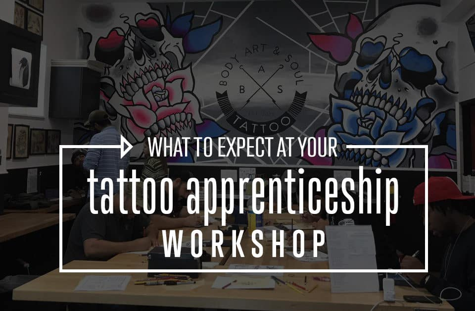 What to Expect at Your Tattoo Workshop