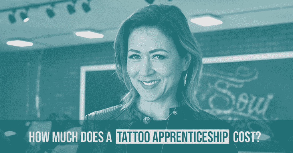 How much does a tattoo apprenticeship cost?